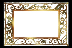 Gold Frame Stock Footage