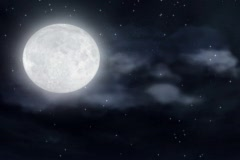 Halloween Moon - stock footage