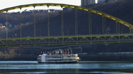 Stock Video Footage of Pittsburgh 332 - Gateway Clipper