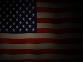 July 4th Flag Stock Footage