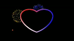 Love American Style HD Stock Footage