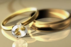 Rings Outro 1 Stock Footage