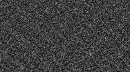 Stock Video Footage of Tv static noise with sound