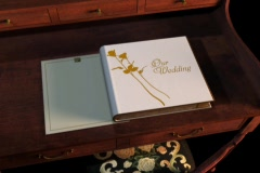 Wedding Album 07 Open - stock footage