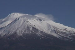Mt.Shasta from NW - stock footage