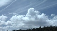 Clouds over mt.ridge TL Stock Footage