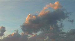 Grand Tetons Sunset Tilt Stock Footage