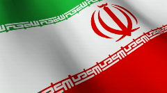 Flag of Iraq Stock Footage