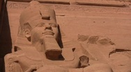 Abu Simbel Temple Stock Footage