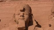 Abu Simbel Temple Stock Footage
