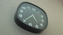 TIMELAPSE WALL CLOCK HD - stock footage