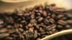 Cofee Beans 2 Stock Footage
