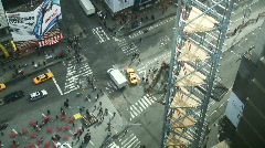 NYC Times Square 01 - stock footage