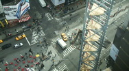 Stock Video Footage of NYC Times Square 01