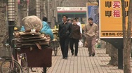 Chinese people in beijing china. Stock Footage