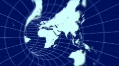 Tunnel - Worldmap Stock Footage