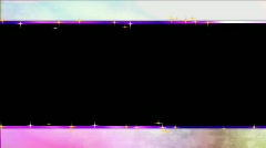 Wedding overlay with alpha pastels particles letterbox hd ntsc Stock Footage