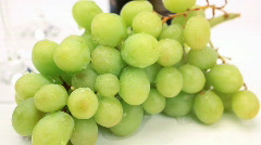 Wine & grapes Stock Footage