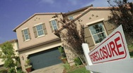 Stock Video Footage of REALTY FORECLOSURE