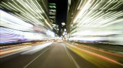 Sharp POV through NYC cityscape - 1080p Stock Footage