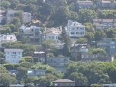 Stock Video Footage of Houses overlooking San Francisco Bay