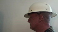Stock Video Footage of man, hat ,helmet, person