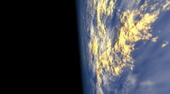 Stock Video Footage of db earth orbit 01 hd1080