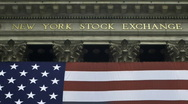 Stock Video Footage of New York Stock Exchange - Zoom Out