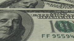 Money background - stock footage