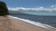 Stock Video Footage of Maui Beach