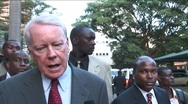 Stock Video Footage of US Ambassador to Kenya