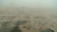A Helo flying in a Sandstorm (HD)m - stock footage