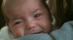 Crying Infant (1 of 1) Stock Footage