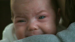 Crying Infant  (1 of 3) Stock Footage