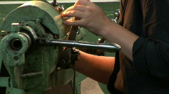 Old plant machine 10 Stock Footage