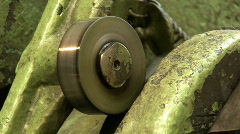Old plant machine 12 Stock Footage