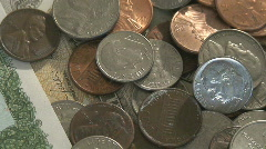 Money, Finance and Banking. Stock Footage