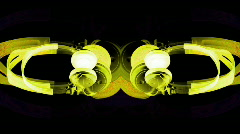 Headphone spin party audio music hifi stereo sound Stock Footage