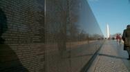 Vietnam Memorial (HD) c Stock Footage