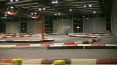 Racing Go-carts 5 Stock Footage