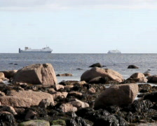 Ferry Boats A Stock Footage