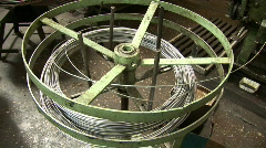 Old plant machine 16 sequence Stock Footage