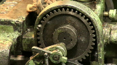 Old plant machine 17 Stock Footage