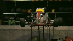 Racing Go-carts 10 Stock Footage