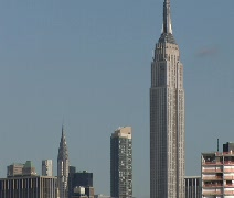 Empire State Building 01 - stock footage
