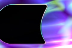 Overlay with alpha ntsc 43 Stock Footage
