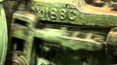 Old plant machine 18 Stock Footage