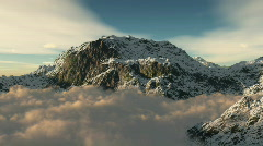 Db mountain top 02 hd1080 Stock Footage