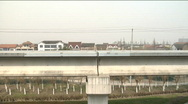 Stock Video Footage of Maglev train the fastest in the world