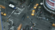 Stock Video Footage of NYC Times Square 03 Time-lapse
